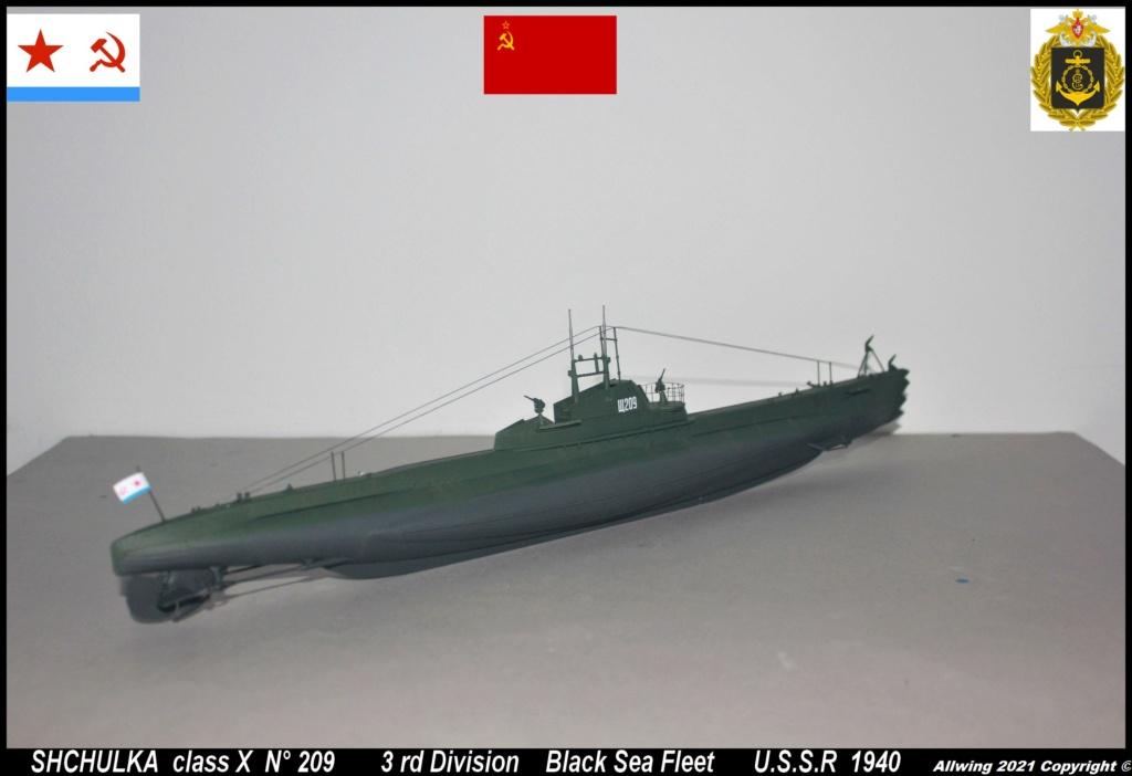 Sous marin Soviétique  SHCHUKA  classe X   (ZVEDA  1/144)    FINI - Page 2 Sch310