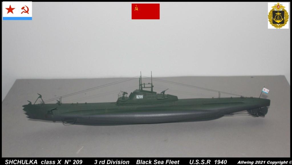 Sous marin Soviétique  SHCHUKA  classe X   (ZVEDA  1/144)    FINI - Page 2 Sch410