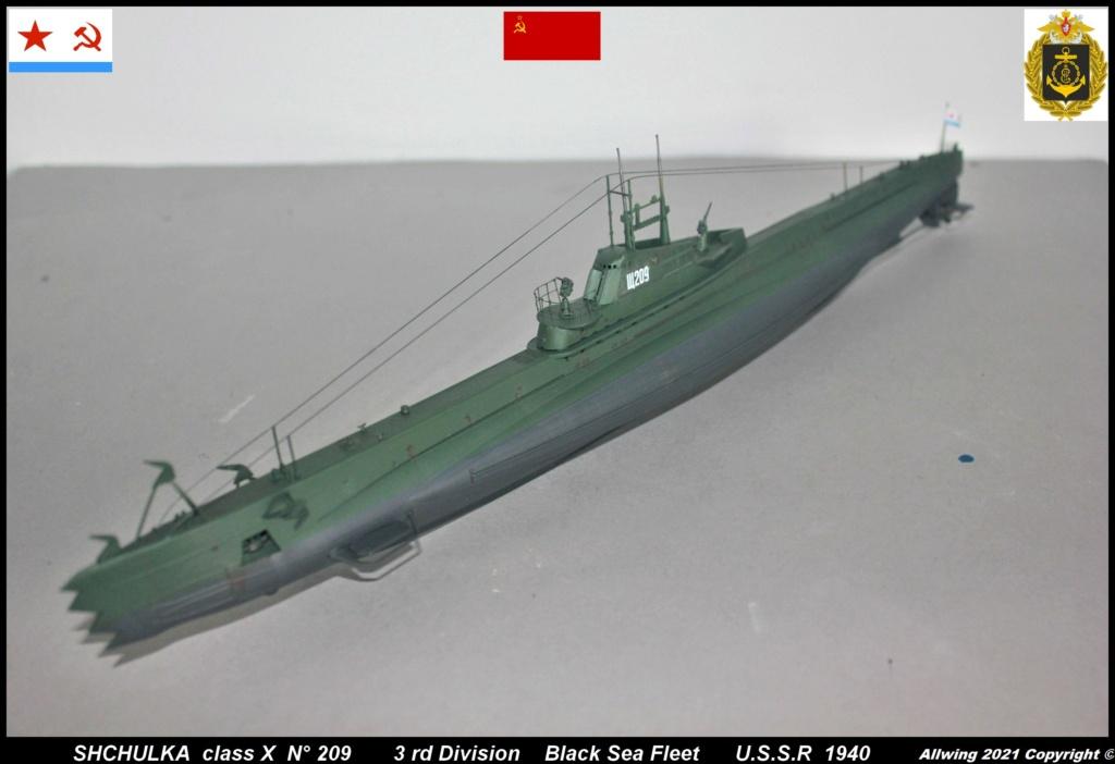 Sous marin Soviétique  SHCHUKA  classe X   (ZVEDA  1/144)    FINI - Page 2 Sch510