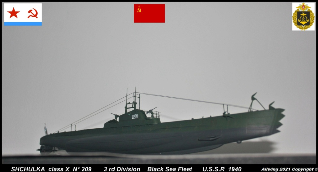 Sous marin Soviétique  SHCHUKA  classe X   (ZVEDA  1/144)    FINI - Page 2 Sch610
