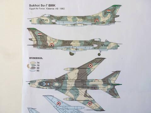 SUKHOI SU 7 BMK ( MODELSVIT au 1/72 )  Su7210