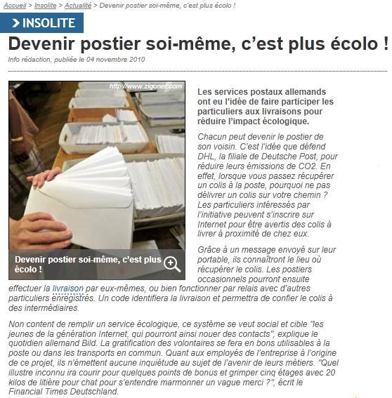 Allemagne: innovation à la con pour distribuer les colis Dhl10