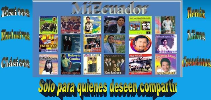 Club de colaboradores de Musica Ecuatorianísima y algo mas