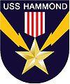 Commandant du USS Hammond