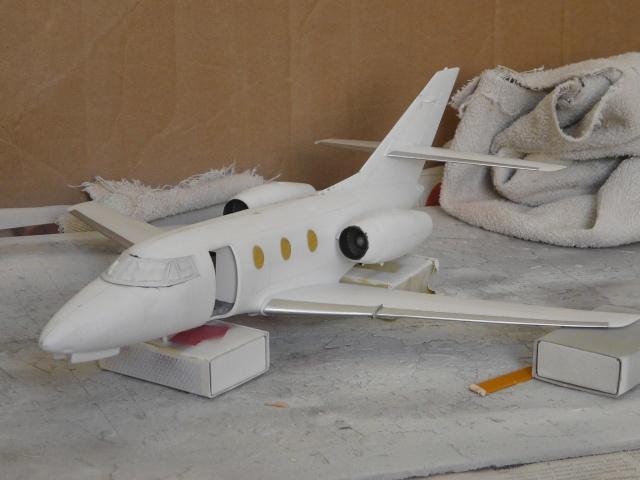 Dassault Falcon 10   1-48 (Revell) - Page 2 P1040513