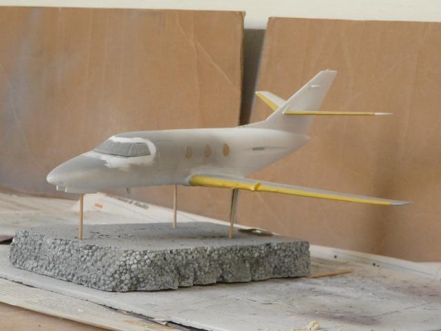 Dassault Falcon 10   1-48 (Revell) - Page 2 P1040514