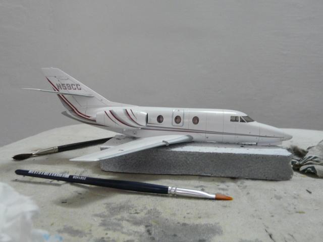Dassault Falcon 10   1-48 (Revell) - Page 2 P1040517