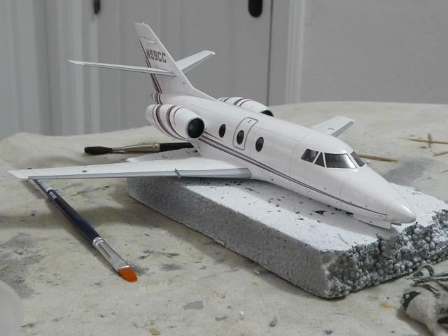 Dassault Falcon 10   1-48 (Revell) - Page 2 P1040518