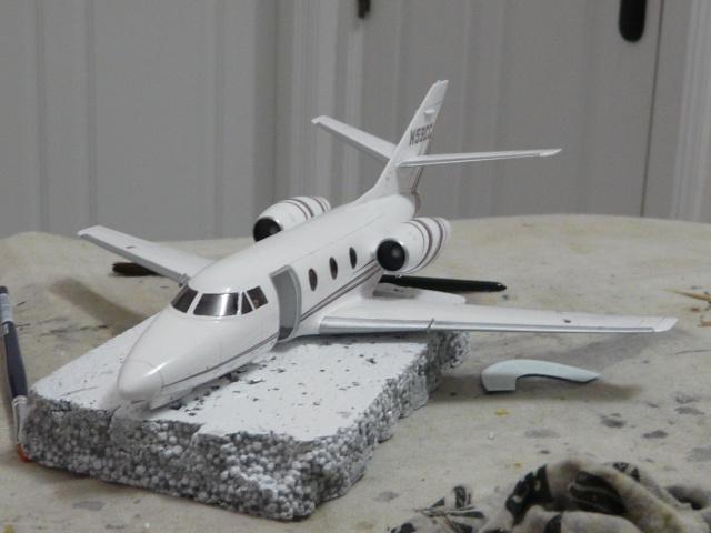 Dassault Falcon 10   1-48 (Revell) - Page 2 P1040519