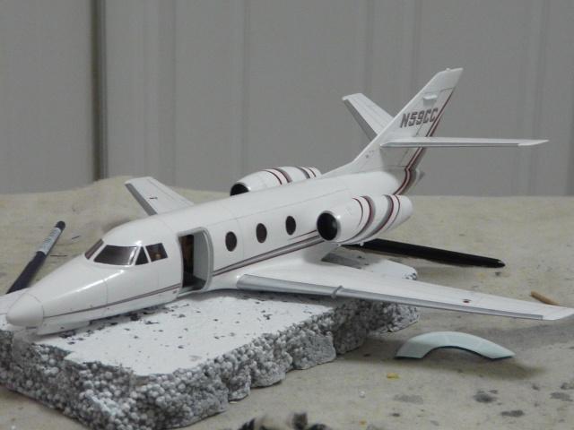 Dassault Falcon 10   1-48 (Revell) - Page 2 P1040520