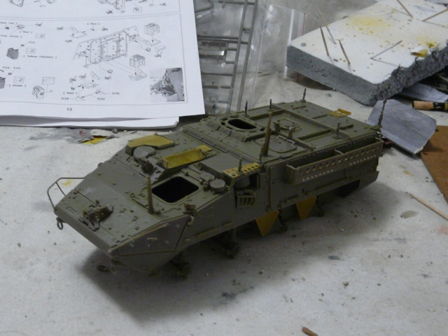 M1130 Stryter Commmand Venicle  1-35 scale P1040830