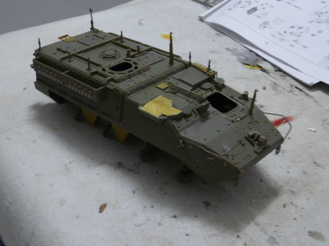 M1130 Stryter Commmand Venicle  1-35 scale P1040832