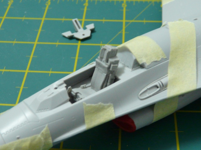 Green Lighting F-16 ADF Special colour  1-48 scale P1050611