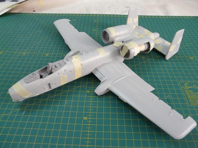 A-10a Thunderbolt II 47th fighter Sqd   Italeri 1-48 P1050911