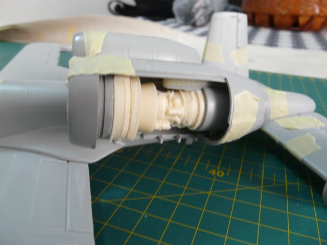 A-10a Thunderbolt II 47th fighter Sqd   Italeri 1-48 P1050915