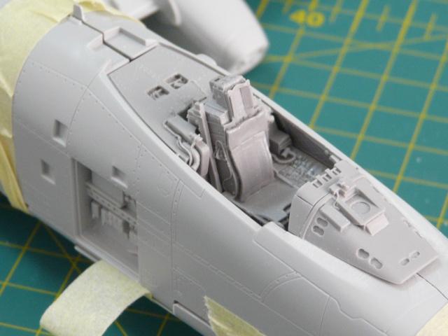 A-10a Thunderbolt II 47th fighter Sqd   Italeri 1-48 P1050916