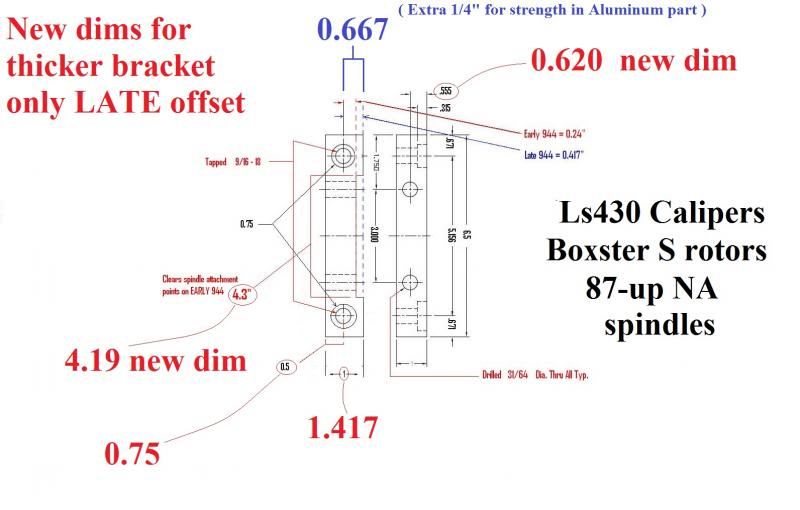 Front and Rear Willwood kit from WagensWest 944-bo10
