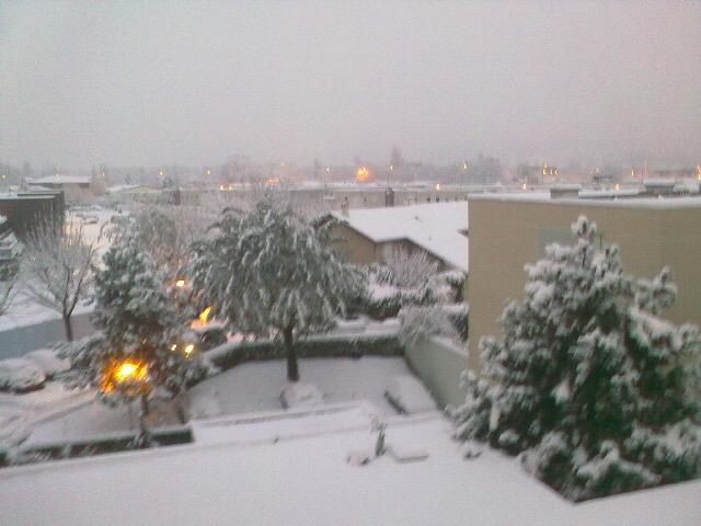 Premières neiges 7h10