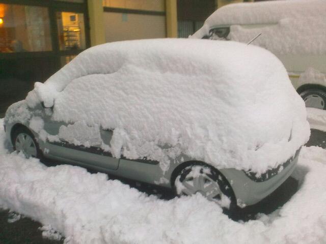 Premières neiges 8h10