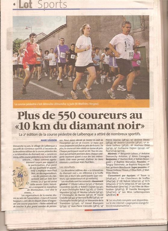 10km Diamant Noir 2010 : commentaires, réactions, critiques... - Page 2 Numari11