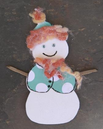 "March Themed Embellishment Swap - ""Seasons"" Snowma10"