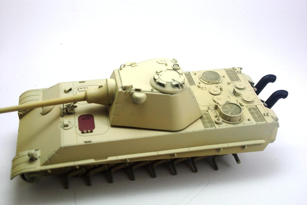 Panther Schmalturm - Practice tank _igp3123