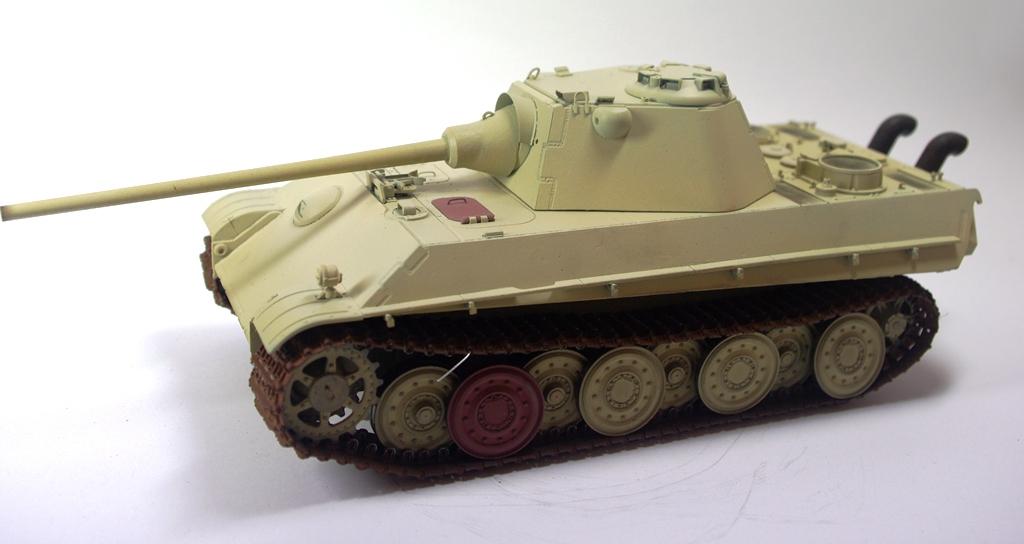 Panther Schmalturm - Practice tank _igp3124
