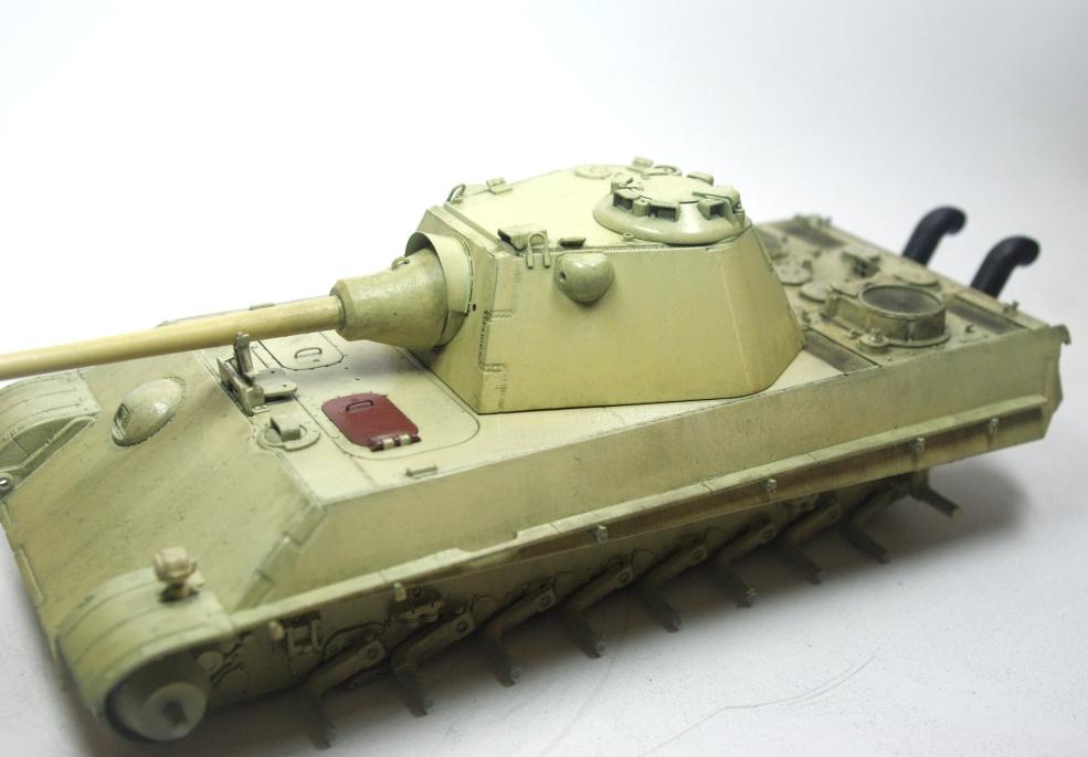 Panther Schmalturm - Practice tank _igp3221