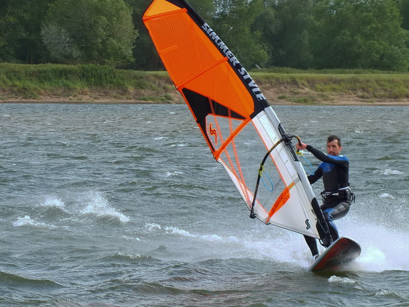 Test d'un nouveau spot en Loire à Port Thibault Portth17