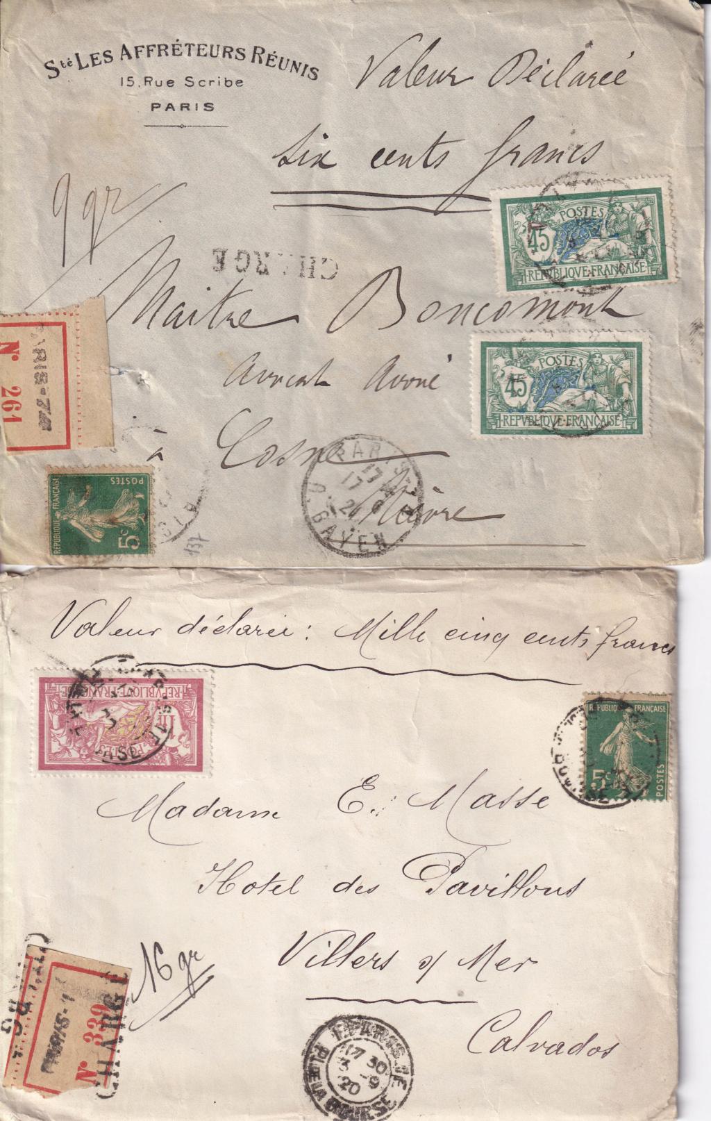 tarif lettre chargée Charge12