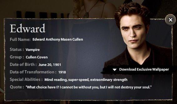 Edward Cullen New_mo10