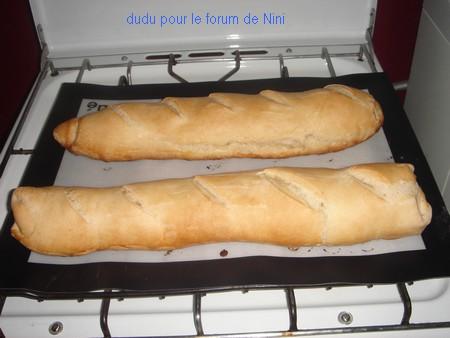 Baguettes de pain, ultra faciles Dsc05811