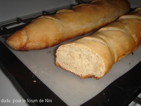 Baguettes de pain, ultra faciles Dsc05812