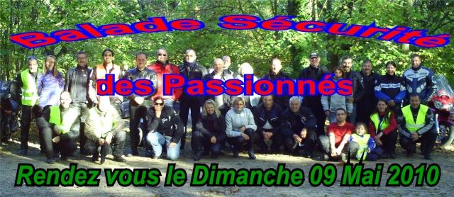 Balade sécurité des Passionnés 09/05/2010 Balade11