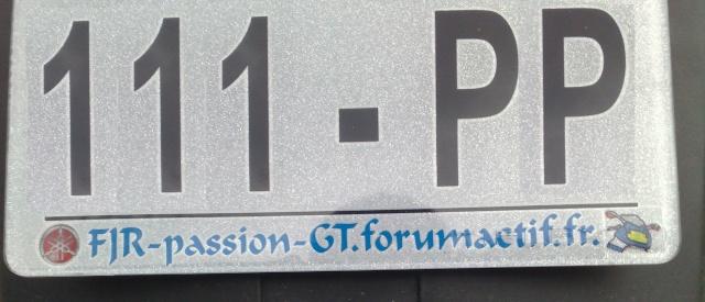 Commande plaque immat. perso Plaque11