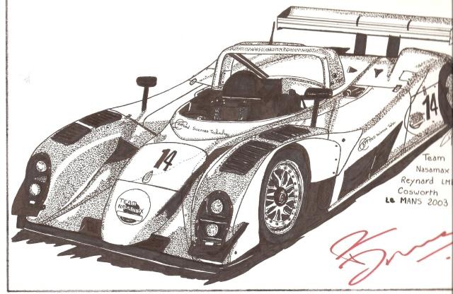 le sport auto  et l'art - Page 2 Dessin12