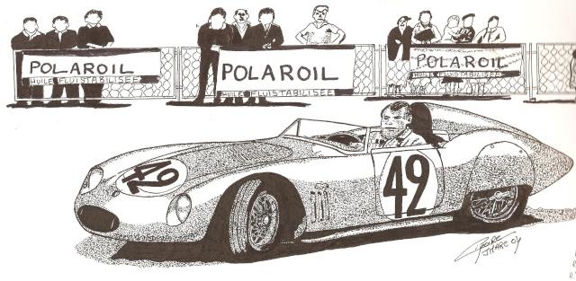 le sport auto  et l'art - Page 2 Dessin13