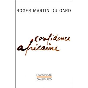 [Martin du Gard, Roger] Confidence africaine 41t4qz10