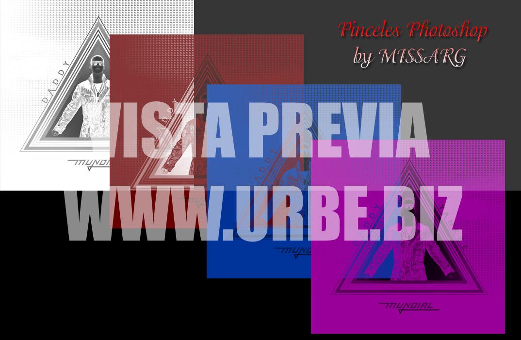 Pack de pinceles Photoshop de Daddy Yankee Mundial by MISSARG (link nuevo) - Página 3 Pincel11