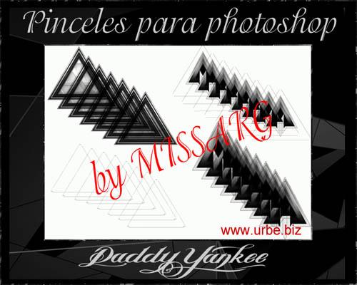 Pinceles para Photoshop Daddy Yankee triangulos descontrol (link nuevo) Prueba10