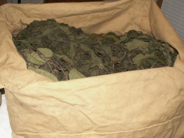 Huge 1940 Blanket Valise 00415