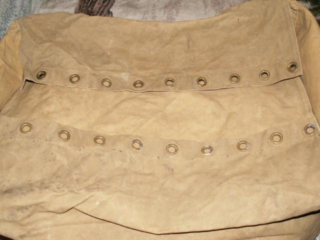 Huge 1940 Blanket Valise 01011