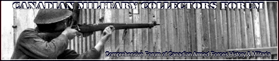 Canadian Military Collectors Forum