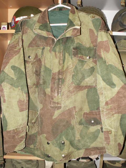 Early Belgian Denison Airborne Jacket Front11