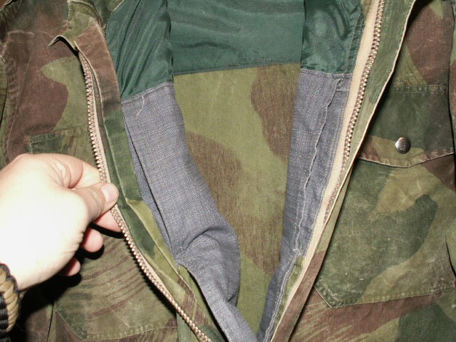 Early Belgian Denison Airborne Jacket Inside11