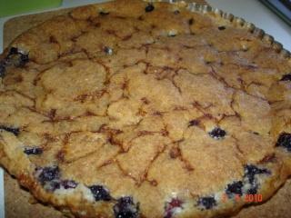 tarte amandine aux bleuets de Ricardo Dsc04626