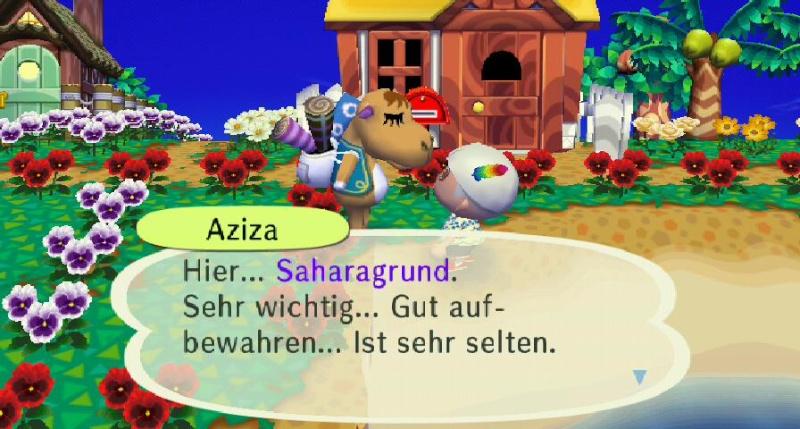 Ich habe von Aziza einen/eine ... erhalten. Sahara10