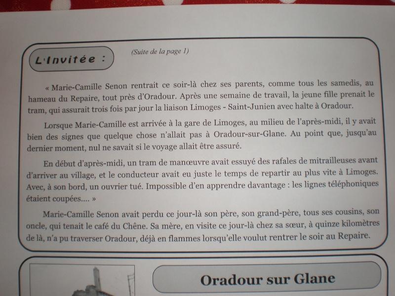 Le massacre d'Oradour-sur-Glane (Haute-Vienne) P3220013