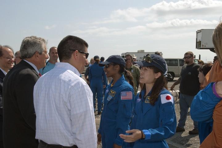 une Japonaise s'envolera vers l'ISS en 2010 2010-219