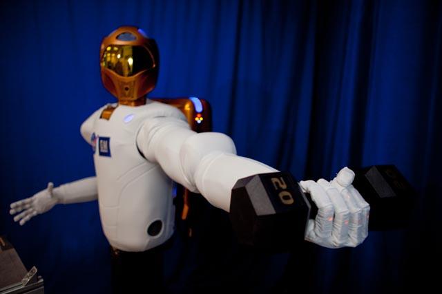 """Le """"Robonaute"""" de la NASA 42283411"""